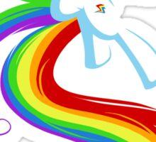 Flowing Rainbow Sticker