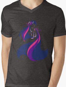 Feathering Twilight Mens V-Neck T-Shirt