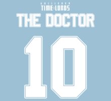 Team Tennant (The Doctor Team Jersey #10) Baby Tee