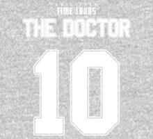 Team Tennant (The Doctor Team Jersey #10) One Piece - Long Sleeve