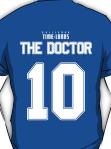 Team Tennant (The Doctor Team Jersey #10) T-Shirt