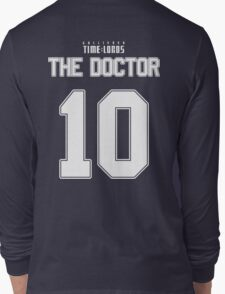 Team Tennant (The Doctor Team Jersey #10) Long Sleeve T-Shirt