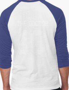 Team Tennant (The Doctor Team Jersey #10) Men's Baseball ¾ T-Shirt