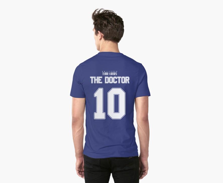 Team Tennant (The Doctor Team Jersey #10) by trekvix
