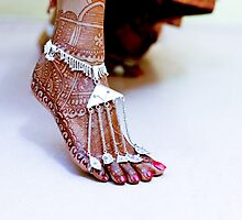 The Bejewelled Feet by Antony Pratap