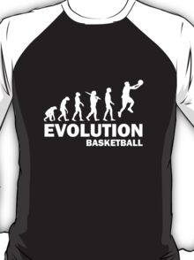 Evolution Basket Ball T-Shirt