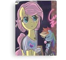 Freestyle Ponies Canvas Print