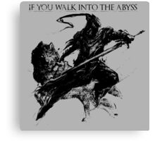 Artorias of the Abyss Canvas Print