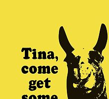 Tina, come get some ham by TinaGraphics
