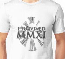 I survived MMXI (2011) Unisex T-Shirt