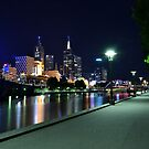 Melbourne at Night 0353 by Kayla Halleur