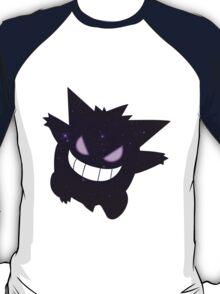 pokemon gengar space anime mangashirt T-Shirt