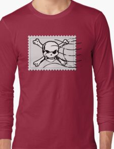 postage stamp Long Sleeve T-Shirt