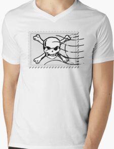 postage stamp Mens V-Neck T-Shirt