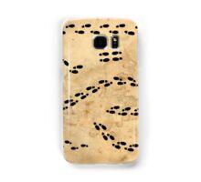 Marauders Map Footprints Samsung Galaxy Case/Skin