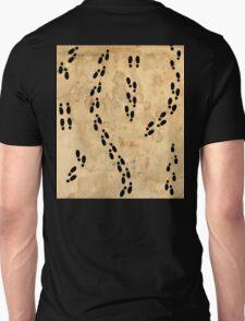 Marauders Map Footprints Unisex T-Shirt