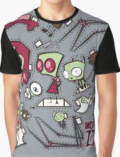 Dress up Zim Graphic T-Shirt