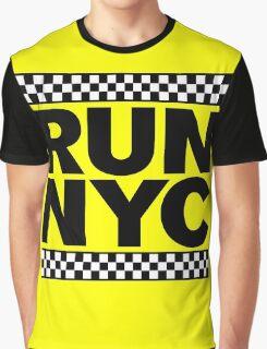 RUN NYC TAXI Graphic T-Shirt