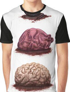 Eye Heart Brains Graphic T-Shirt