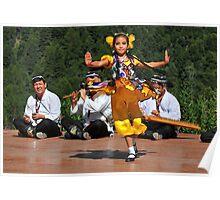 Uzbeki dancing girl Poster