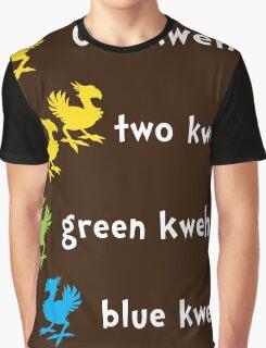 One Kweh Two Kweh Green Kweh Blue Kweh Graphic T-Shirt