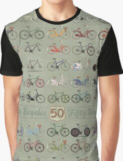 Fifty Bicycles Graphic T-Shirt