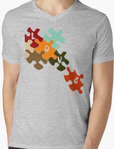 Pieces of love  Mens V-Neck T-Shirt