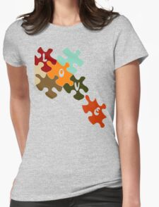 Pieces of love  Womens Fitted T-Shirt