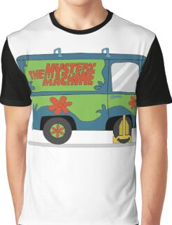 Mystery Machine Wheel Clamp  Graphic T-Shirt