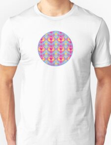 Koi and Sparrow Pattern T-Shirt
