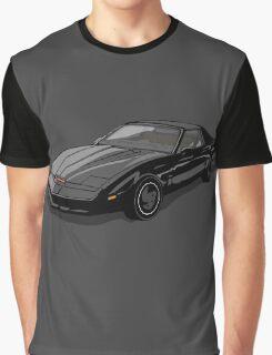 Knight Rider KITT Car Graphic T-Shirt