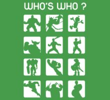 Who's who ? (normal difficulty) Kids Tee