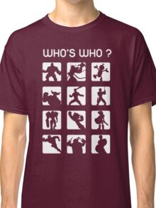 Who's who ? (normal difficulty) Classic T-Shirt