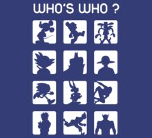 Who's who ? (easy difficulty)