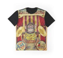 Death's Minstrel: Jolly Chimp Sideshow Banner Graphic T-Shirt