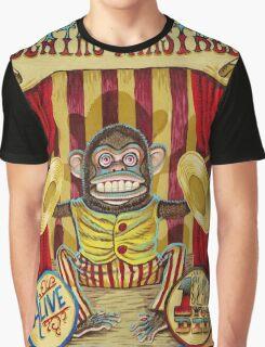 Death's Minstrel: Jolly Chimp Sideshow Banner Graphic T-Shirt