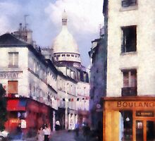 Paris Street by Susan Savad
