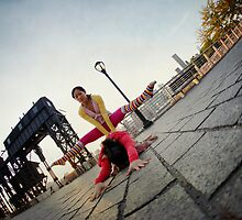 Partner Yoga in New York  by Wari Om  Yoga Photography