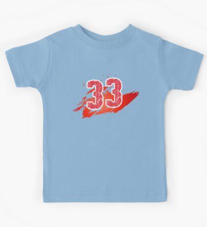 Number 33 Kids Tee