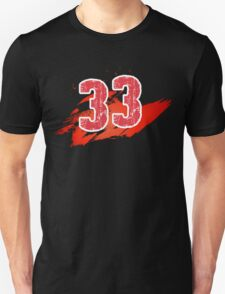 Number 33 Unisex T-Shirt