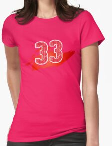 Number 33 Womens T-Shirt
