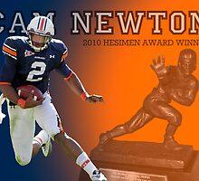 Cam Newton Heisman by WTWalters