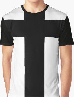Cross (Faithful to God) Graphic T-Shirt