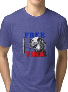 FREE TINA Tri-blend T-Shirt