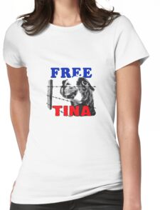 FREE TINA Womens Fitted T-Shirt