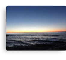 Sea and Sky, Alive Canvas Print
