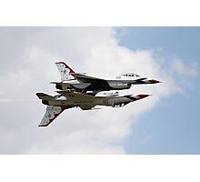 USAF Thunderbirds F16 Fighting Falcons Photographic Print