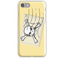 Zombie stamp - case iPhone Case/Skin