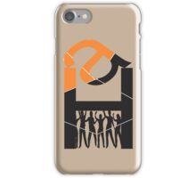 Monograms design iPhone Case/Skin