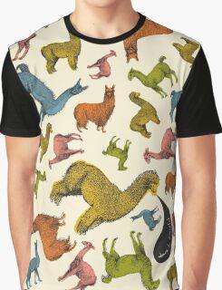 Camelids - Abrace la Diversidad Graphic T-Shirt